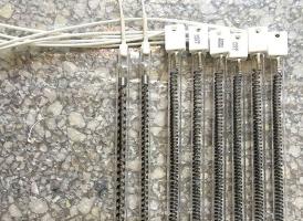 碳纤维电热灯管